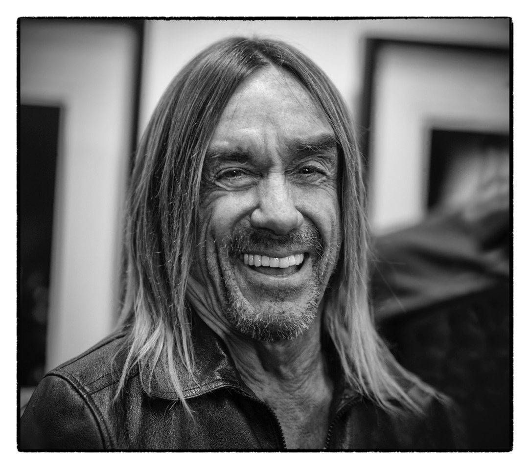 portrait iggy pop black and white